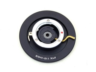 pen 110 lens mount adapter for mFT, with built-in IRIS