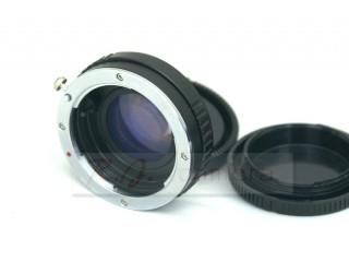 Minolta Sony AF (alpha) lens focal reducer speed booster adapter to Sony NEX 5 6 7 FS700 FS100 VG20 EA50