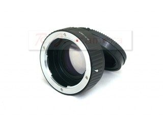 Contax CY lens mount focal reducer speed booster adapter to Sony NEX 5 6 7 FS700 FS100 VG20 EA50