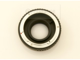 Canon FD lens mount focal reducer speed booster adapter to m4/3 mft AF100 OM-D G-M1