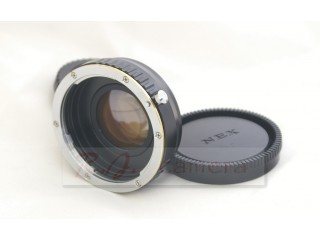 Canon EOS EF lens focal reducer speed booster adapter to Sony NEX 5 6 7 FS700 FS100 VG20 EA50