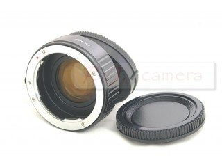 Pentax PK lens focal reducer speed booster adapter to Sony NEX 5 6 7 FS700 FS100 VG20 EA50